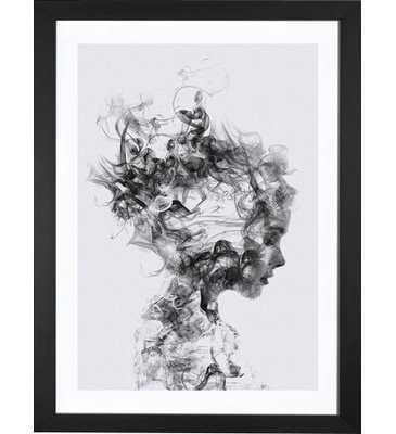 "'Dissolve Me' Graphic Art Print - 24"" x 16"" - AllModern"
