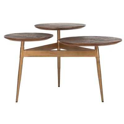 Burleson 3 Circle End Table - Wayfair