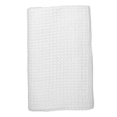 White Organic Cotton Blanket and Throw - Home Depot