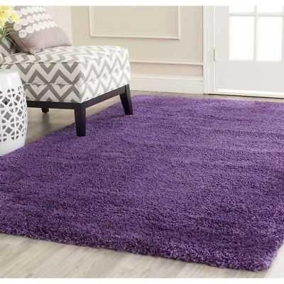 """Safavieh Milan Shag Purple Shag Rug - 5'1"""" x 8' - eBay"""