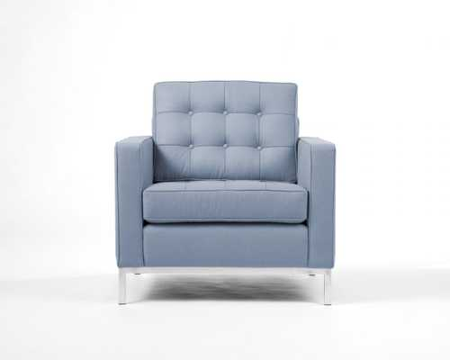 Florence Armchair - Winter Blue - Rove Concepts