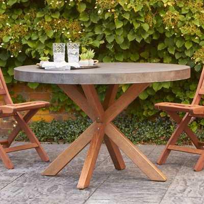 Mancini  Stone/Concrete  Dining Table - Birch Lane
