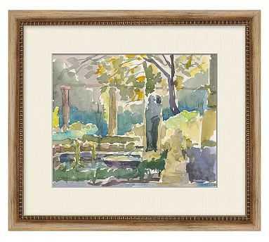 """Buen Retiro Framed Print, 16 x 14"""" - Pottery Barn"""