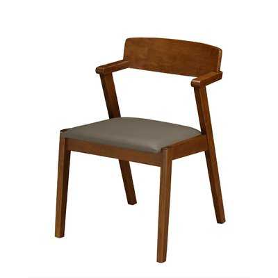 Buckleton Set of 2 Wooden Dining Chairs - Wayfair