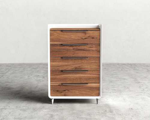 Grayson Tall Dresser - Walnut Veneer - Rove Concepts