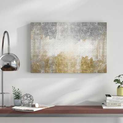 'Amantes Abstract Art' Print on Canvas - Wayfair