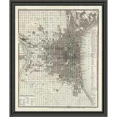 'Philadelphia; 1860' Framed Print - Wayfair