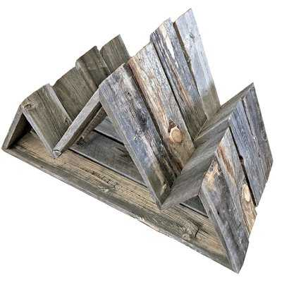 Leeman Reclaimed Wood Mountain Wall Shelf - Wayfair