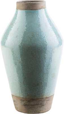 Leclair 8.66 x 8.66 x 14.96 Table Vase - Neva Home