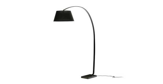Willo Black Floor Lamp - Article