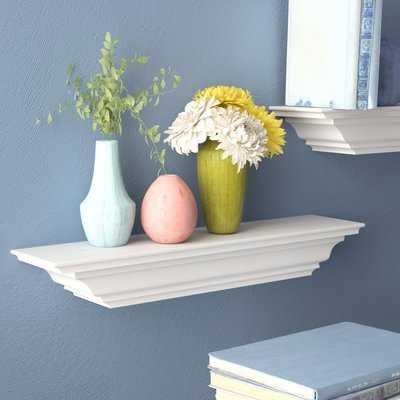 Androscogin Molding Wall Shelf - Wayfair