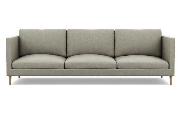 Oliver Sofa with Sesame Fabric and Natural Oak legs - Interior Define
