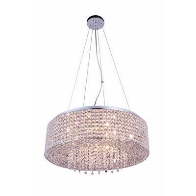 Anglesey 10-Light Crystal Chandelier - Wayfair