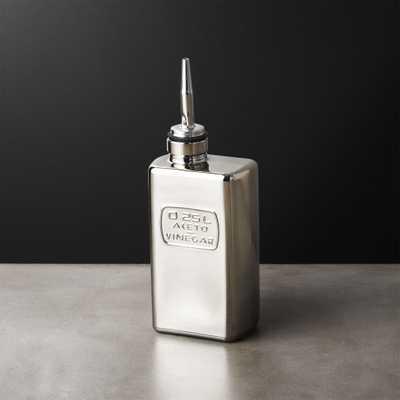Silver Vinegar Cruet - CB2