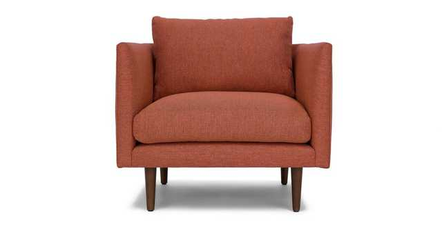 Burrard Cayenne Red Chair - Article