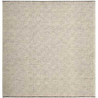 Natura Ivory/Light Gray 6 ft. x 6 ft. Square Area Rug - Home Depot
