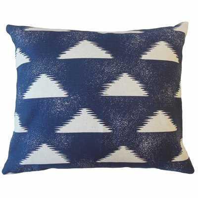 Eliora Geometric Cotton Pillow - Wayfair