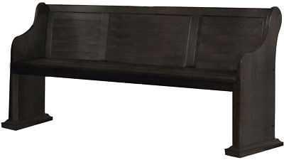 One Allium Way Aldaco Wood Dining Bench - eBay