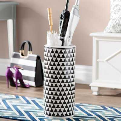 Amar Contemporary Ceramic Umbrella Stand - Wayfair