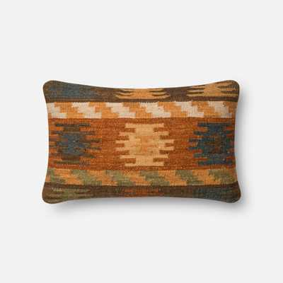 """PILLOWS - RUST / BROWN - 13"""" X 21"""" Cover Only - Loma Threads"""