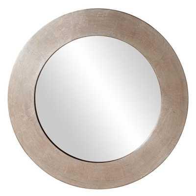 20 in. x 20 in. Round Framed Mirror - Home Depot