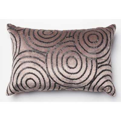 Novack Velvet Lumbar Pillow - Wayfair