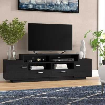 Aston Solid Wood TV Stand for TVs up to 78 inches - AllModern