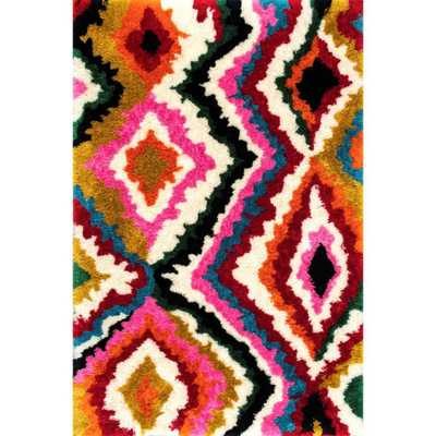 Carnival Abbey Shaggy Multi 8 ft. x 10 ft. Area Rug - Home Depot