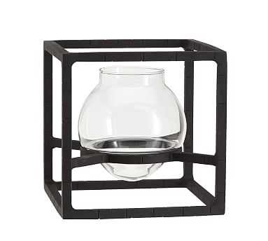 Irving Architectural Glass Vase, Bud - Pottery Barn