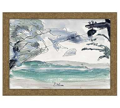 Beachside Sketch - Pottery Barn