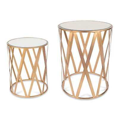 Everly Quinn Alecto Drum 2 Piece End Table - eBay