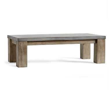 Brooks Coffee Table, Seadrift - Pottery Barn