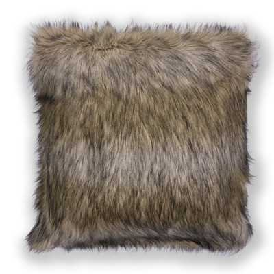 Half Dome Exotics Faux Fur Throw Pillow - Wayfair