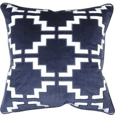 Pavillion Velvet Throw Pillow - Wayfair