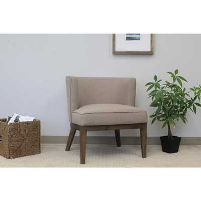 Beige Ava Accent Chair - Home Depot