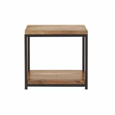 Anjou Natural End Table - Home Depot