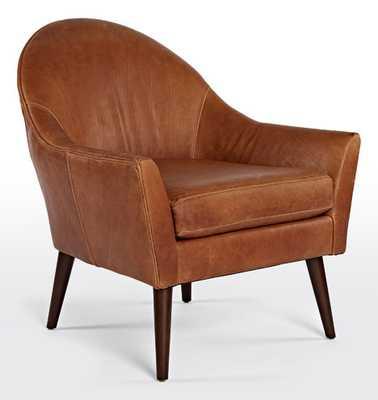 Alberta Leather Chair - Rejuvenation