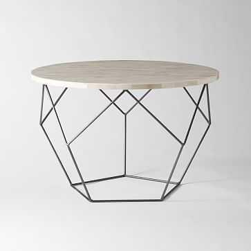 "Origami Coffee Table, Medium/28""x18"" - West Elm"