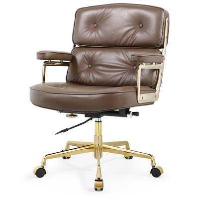 Leather Office Chair - Wayfair