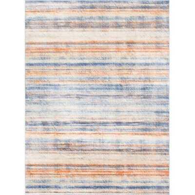 Montross Blue/Orange Area Rug - Wayfair