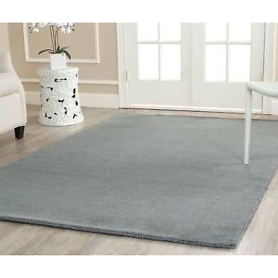 Safavieh Handmade Himalaya Solid Blue Wool Area Rug - 8'9 x 12' - eBay