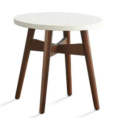 Serena End Table, White - Home Depot