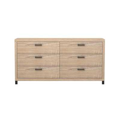 Thornton 6-Drawer Driftwood (Brown) Dresser - Home Depot