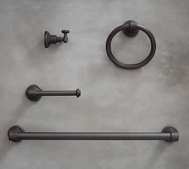 Benchwright Fixture Set, Antique Bronze - Pottery Barn