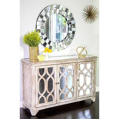 Hannah Mirror Glass Buffet - eBay