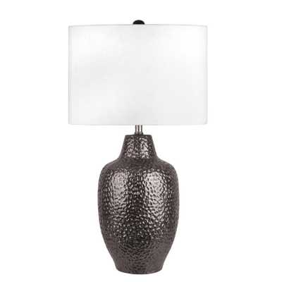Nuloom Dahlia 29 in. Bronze Table Lamp - Home Depot