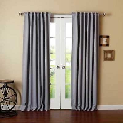 Rose Street Grey 52 x 84 Curtain Panel - 2307-1974431-251 - eBay