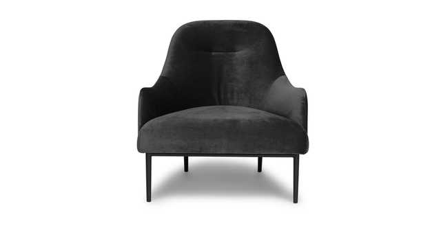 Embrace Mica Gray Chair - Article
