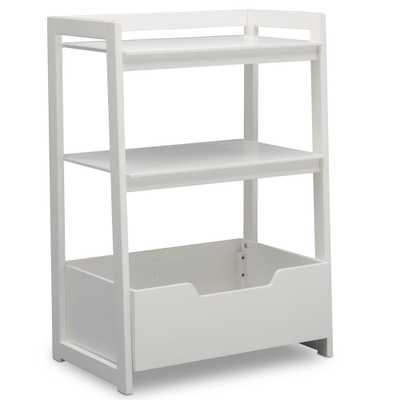 Universal Bianca White Small Ladder Shelf - Home Depot