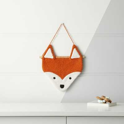Fox Woven Wall Art - Crate and Barrel